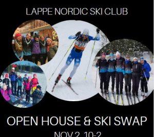 Lappe Open House and Ski Swap @ Lappe Ski Center   Ontario   Canada